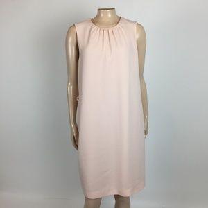 NEW Zara Basic Women's Shift Dress L Pink YY20